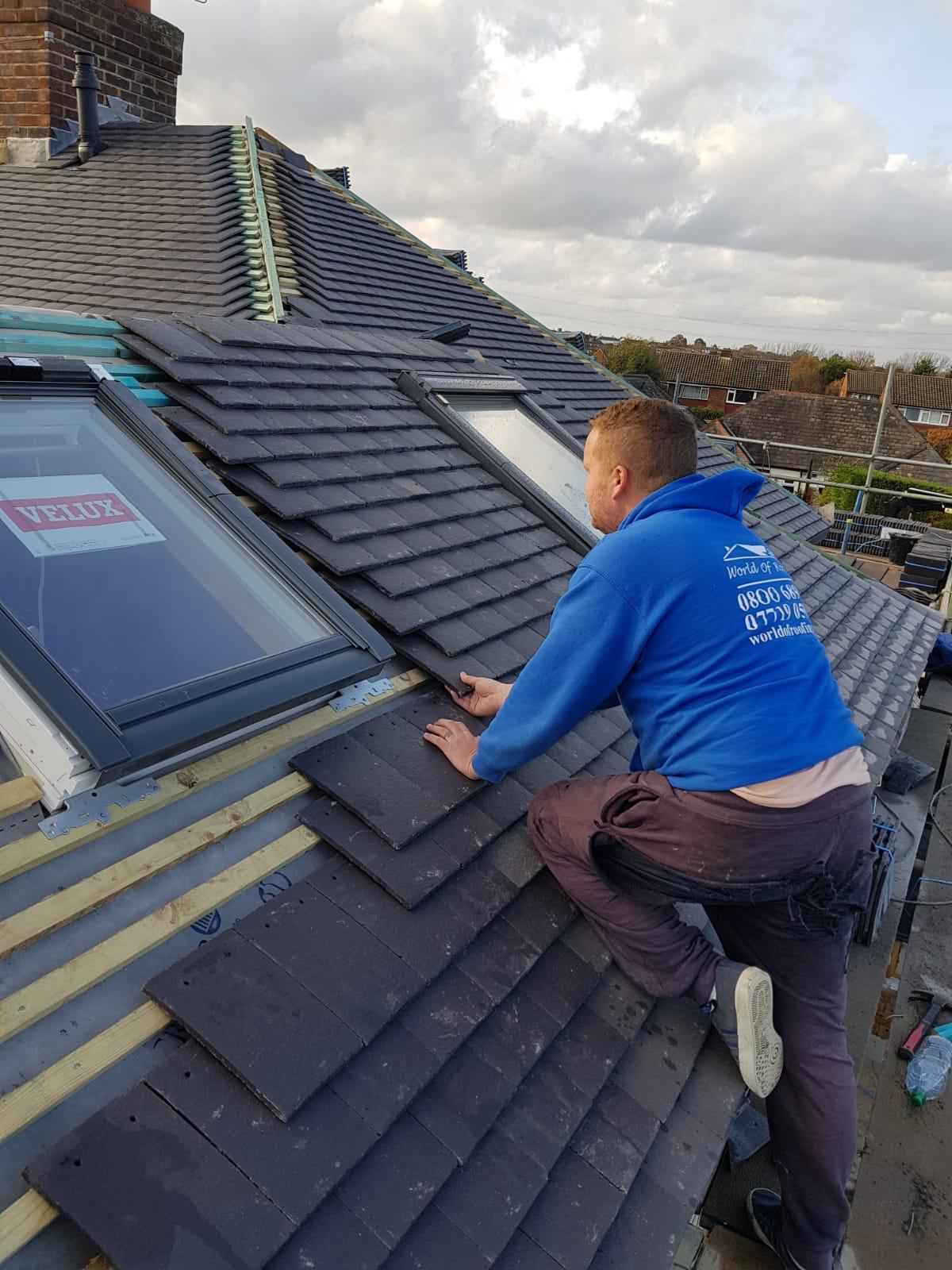 Roof repairs Ashtead