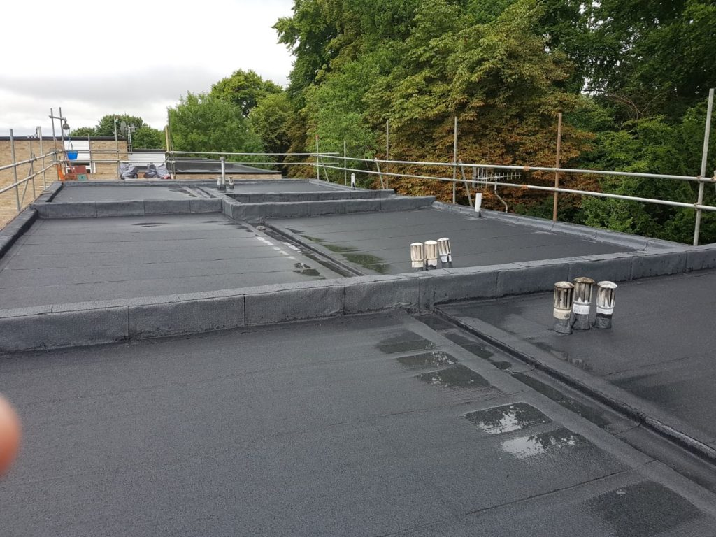 Flat roofs in Worcester Park