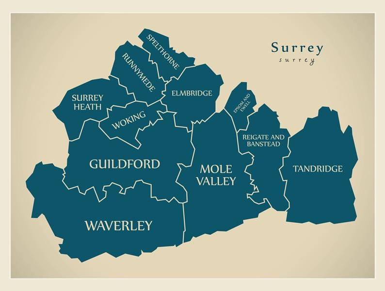 Guttering in Surrey